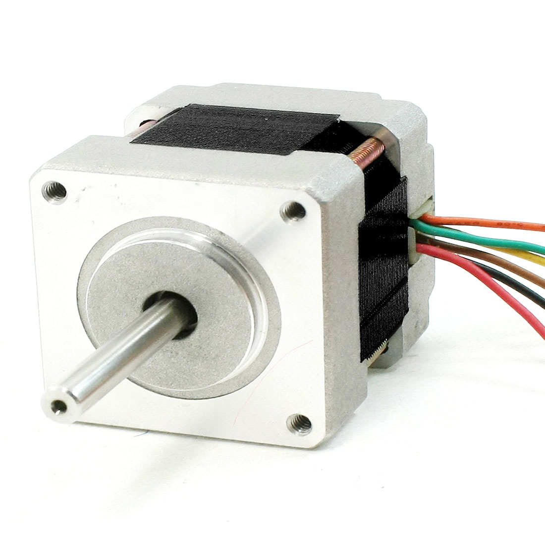 2 Phase 5mm Diameter Drive Shaft JQF39F34-01 Model Stepper Stepping Motor 0.6A