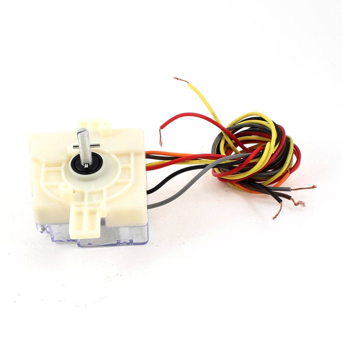 White Washing Machine Parts 6 Wires Timer Time Controller AC 250V 3A