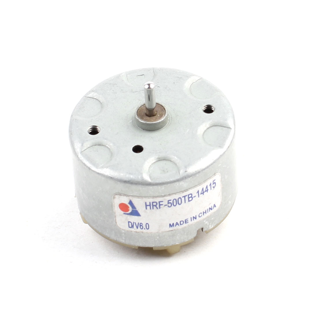 2mm Shaft 32mm Diameter Silver Tone Electric Motor 3700 RPM DC 6V