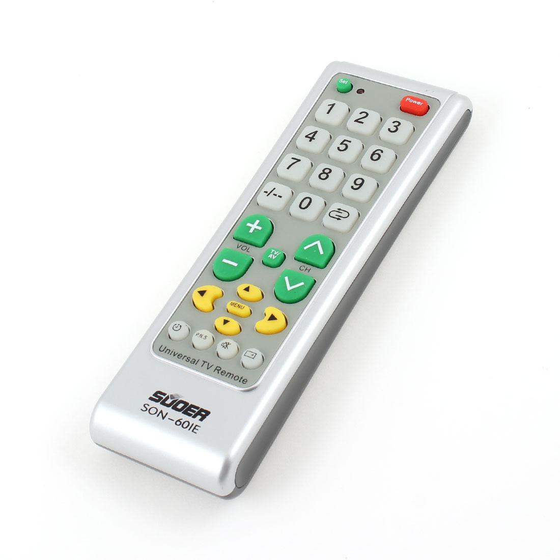 SON-601E Home Tri Color Electric TV SET Universal Remote Control Controller