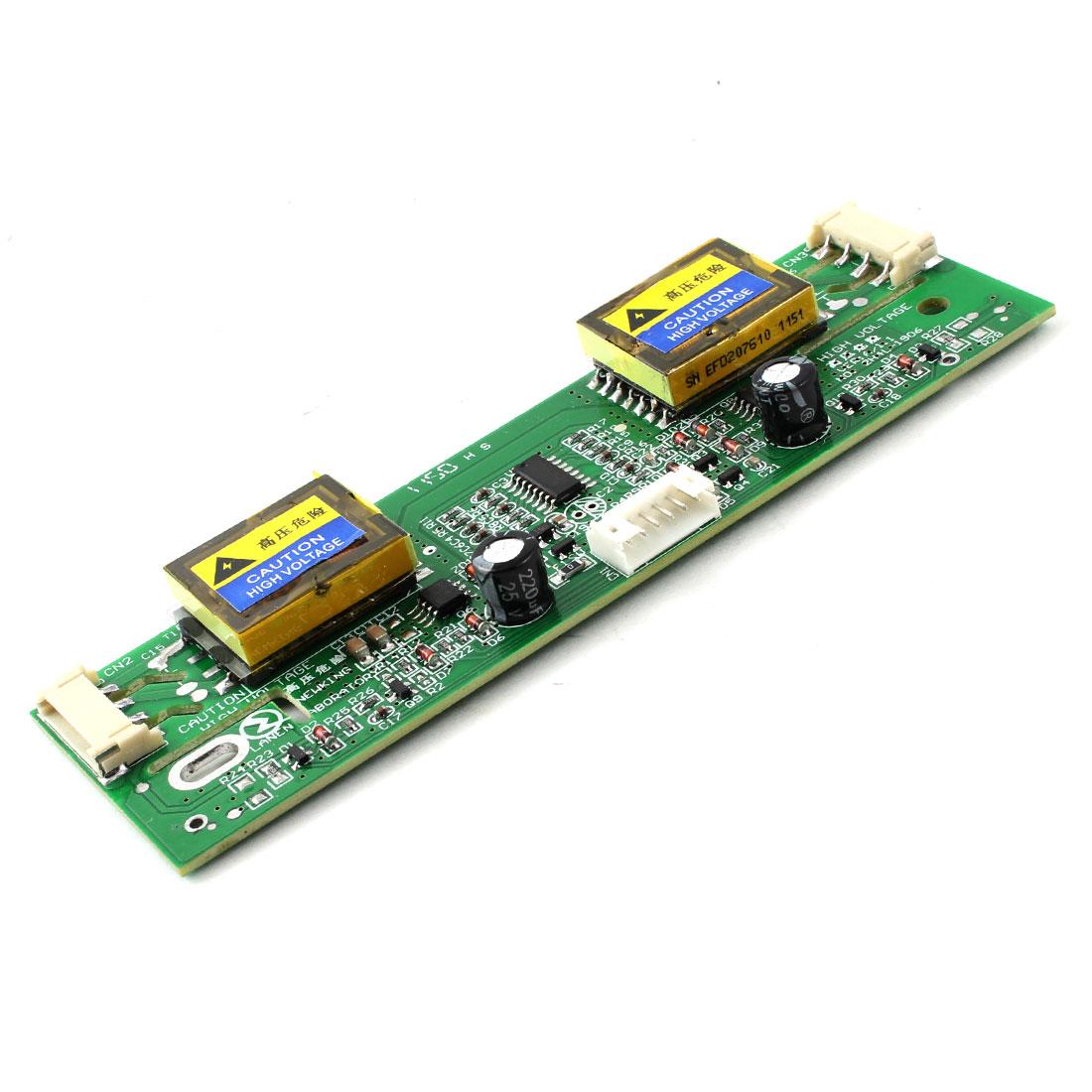 "LCD Monitor Universal CCFL Inverter 10-28V 4 Lamp for 15-22"" Widescreen"