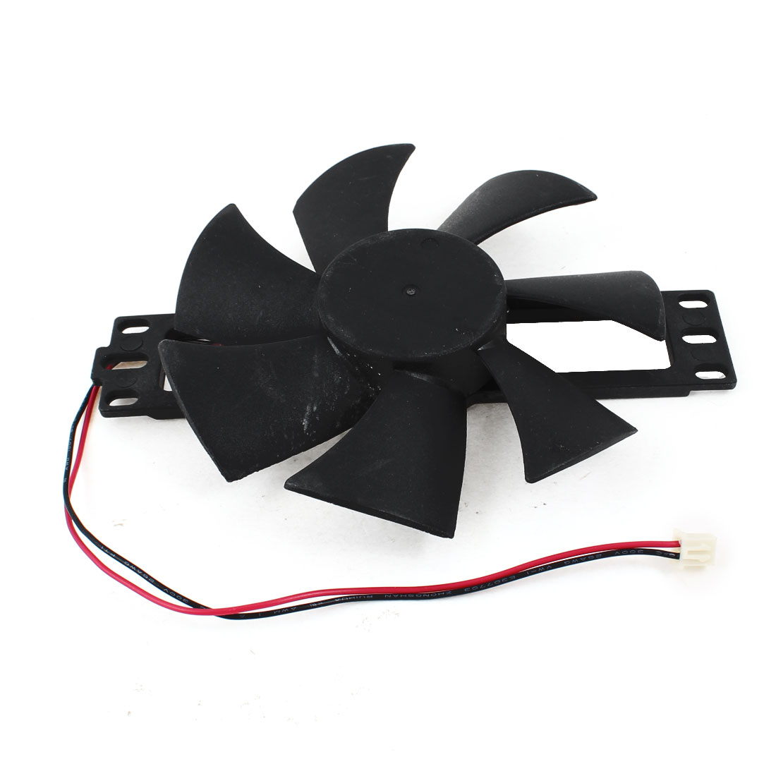 DC 12V Induction Cooker Replacement 2 Terminal Connector Brushless Cooling Fan