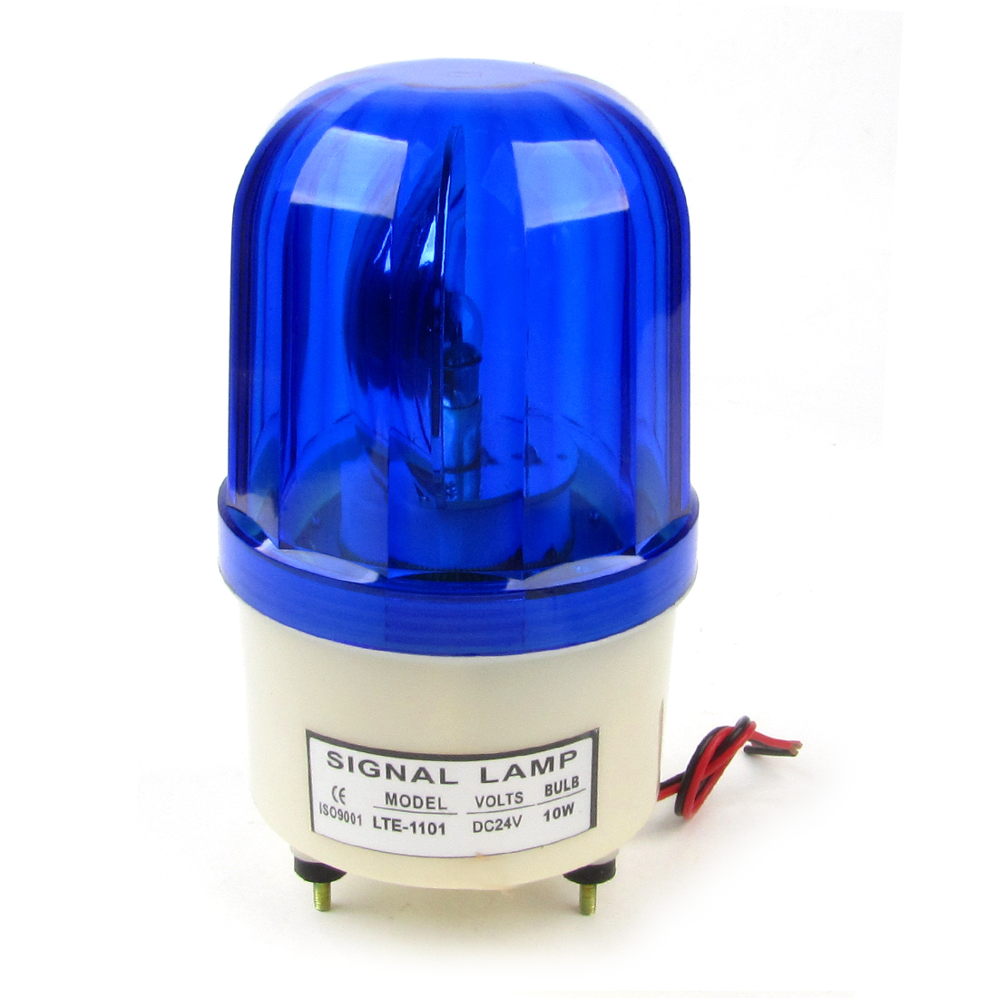 LTE-1101 Vehicles Blue Strobe Rotary Warning Lamp Light DC24V 10W