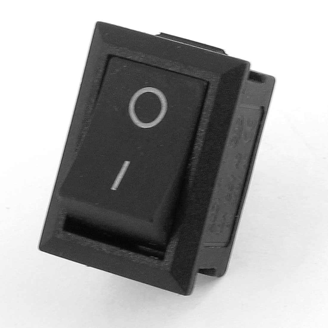 Black ON-OFF SPST Snap in Boat Rocker Switch 6A/250V 10A/125V AC