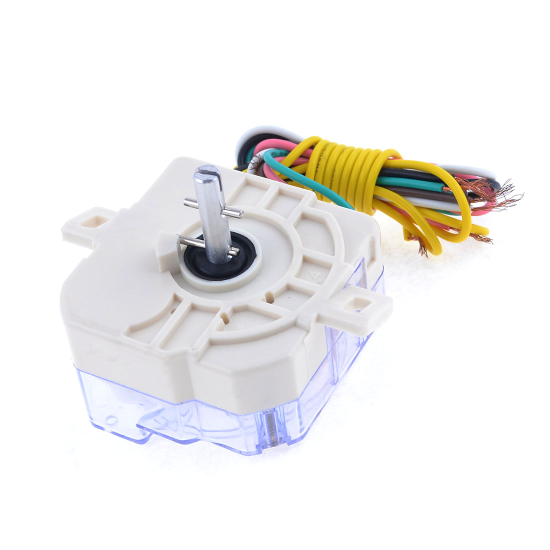 White Washing Machine Parts 7 Wires Timer Time Controller AC 250V 3A