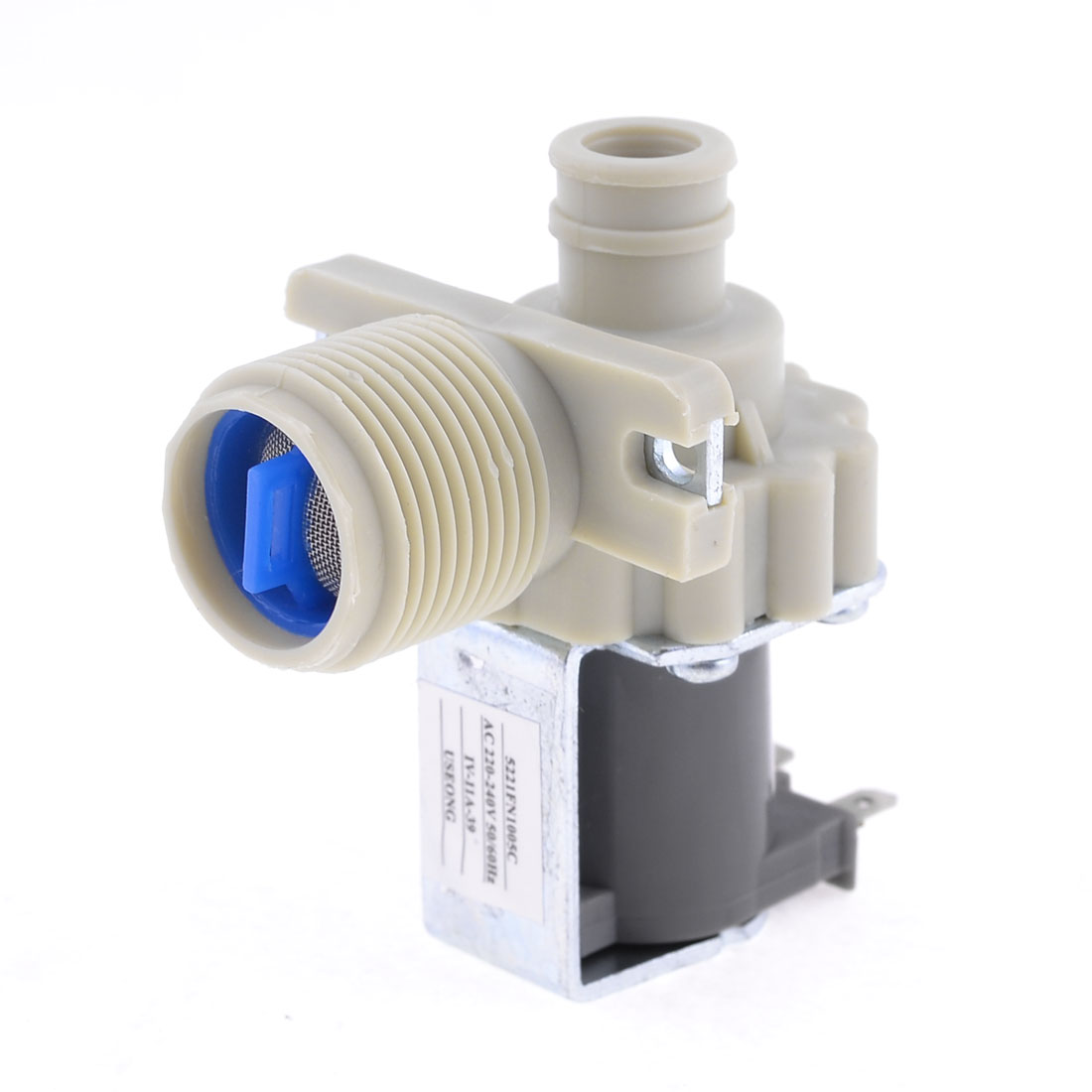 AC 220-240V 2 Terminal 26mm Thread Water Inlet Solenoid Valve for LG Washing Machine