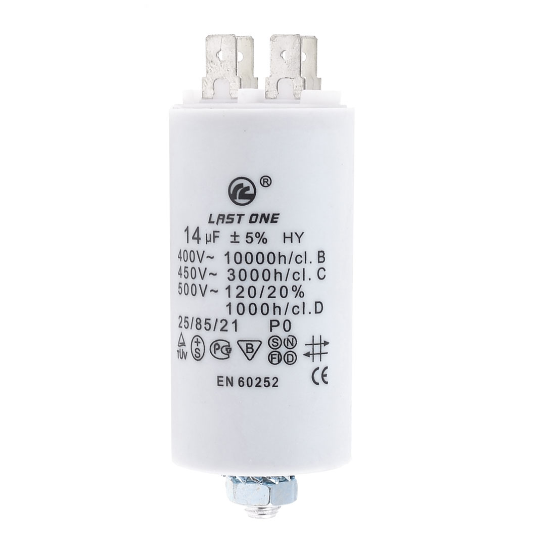14MFD 14uF 450V Cylinder Electric AC Motor Running Capacitor