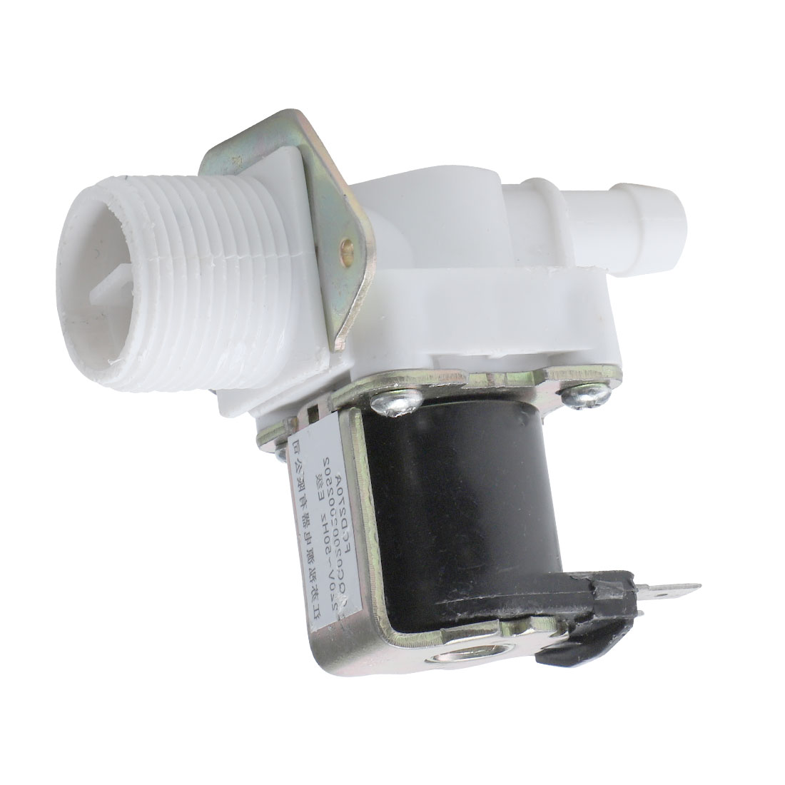 AC 220V 26mA 26mm Threaded Water Inlet Solenoid Valve for Washing Machine