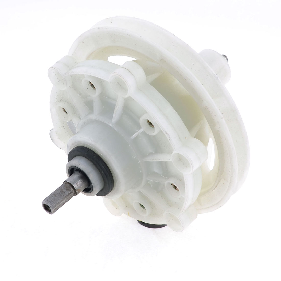 22mm Length Square Shaft Washing Machine Part Gear Box Reducer Off White