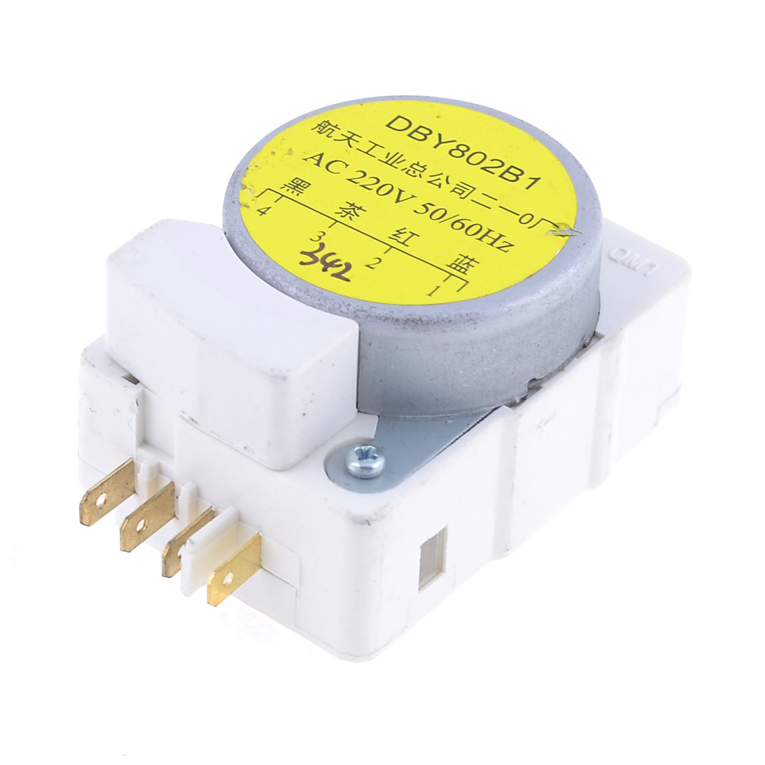 Marked 4 Pin Refrigerator Defrost Timer Control AC 220V 50Hz/60Hz