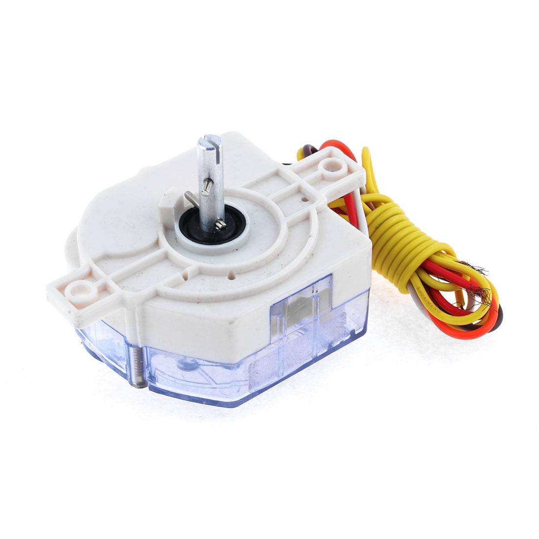 Refrigerator Spare Parts 6 Wire Timer AC 220V 3A White