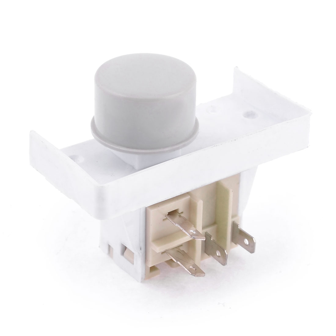 Replacement 220-240V 5A NO Round Power Switch for Washer Washing Machine
