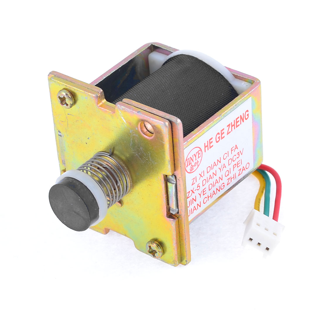 LPG Gas Water Heater 3 Pin Connector Solenoid Valve DC 3V