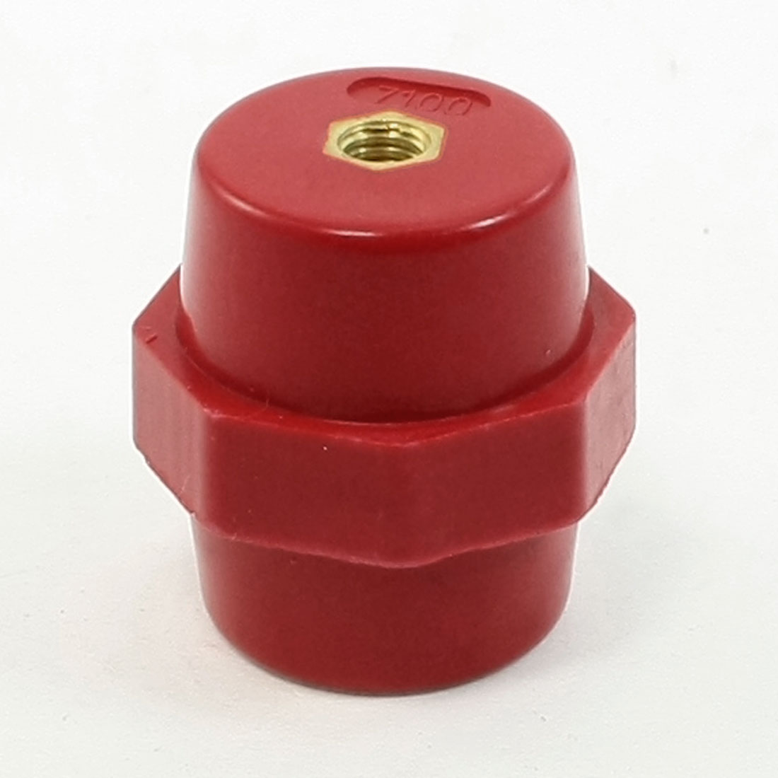 SM7100 10KV Withstand Voltage 6mm Bore 35mm High Busbar Insulator Support
