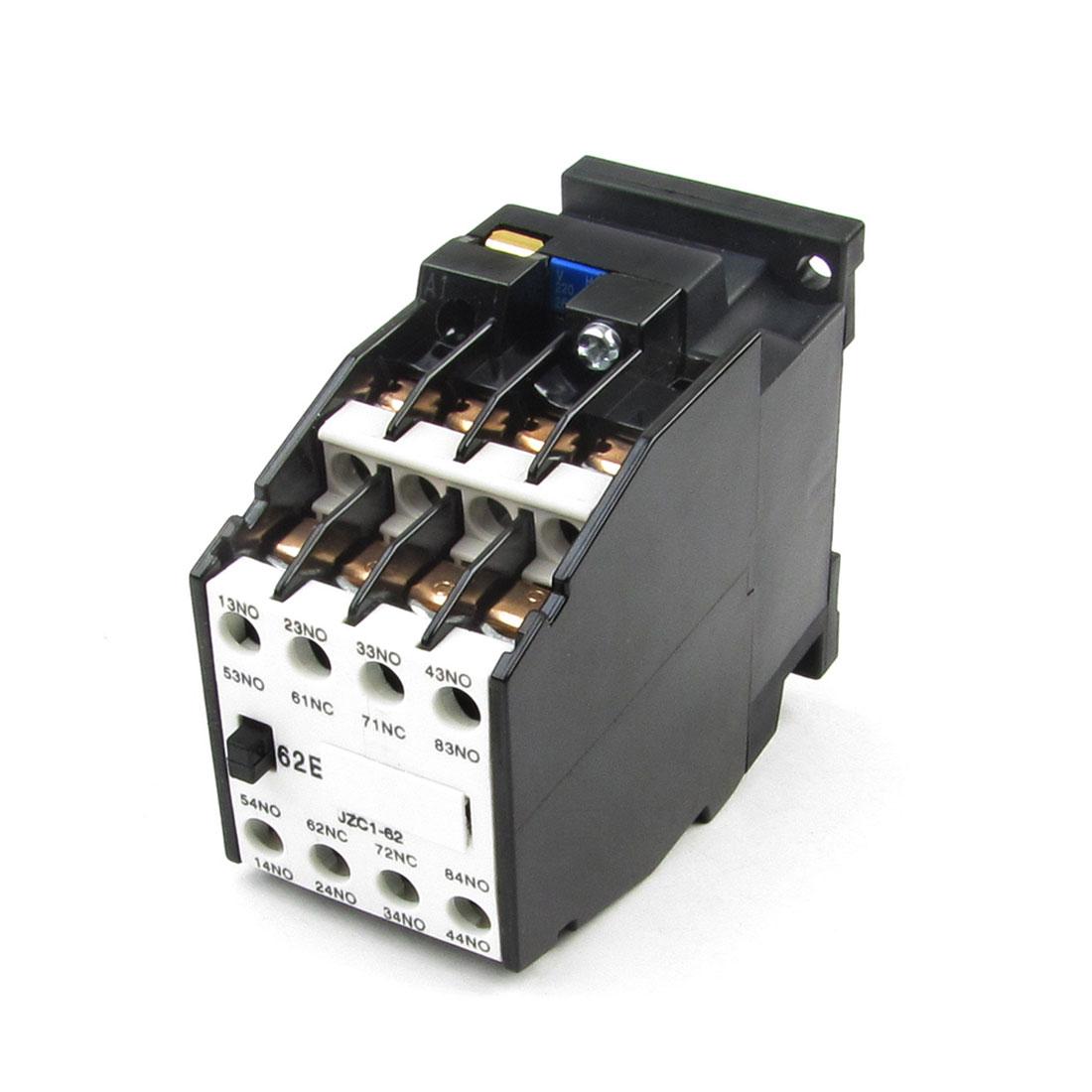 Ui 660V Ith 10A Coil 220V 50Hz 264V 60Hz AC Contactor 6NO + 2NC