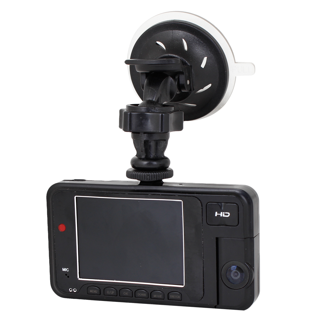 "Adjustable Dual Lens 2.7"" TFT Screen Car Vehicle Camera DVR Recorder 720P"