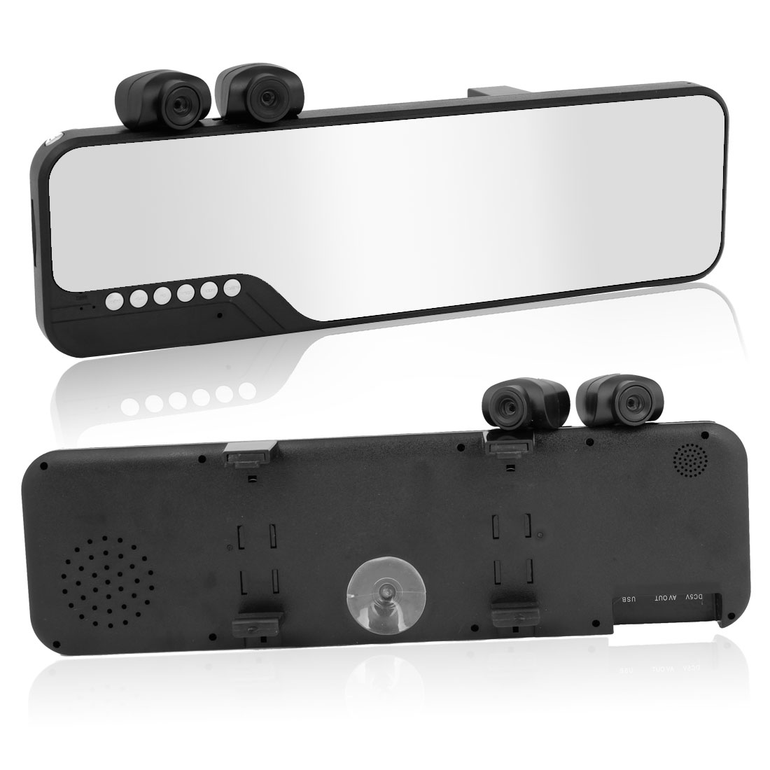 "2.7"" High Definition TFT Screen Night Vision DVR Dual Lend Car Camera Recorder"