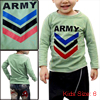 Boys Round Collar Letter Patterns Green Long Sleeve T-Shirt 6