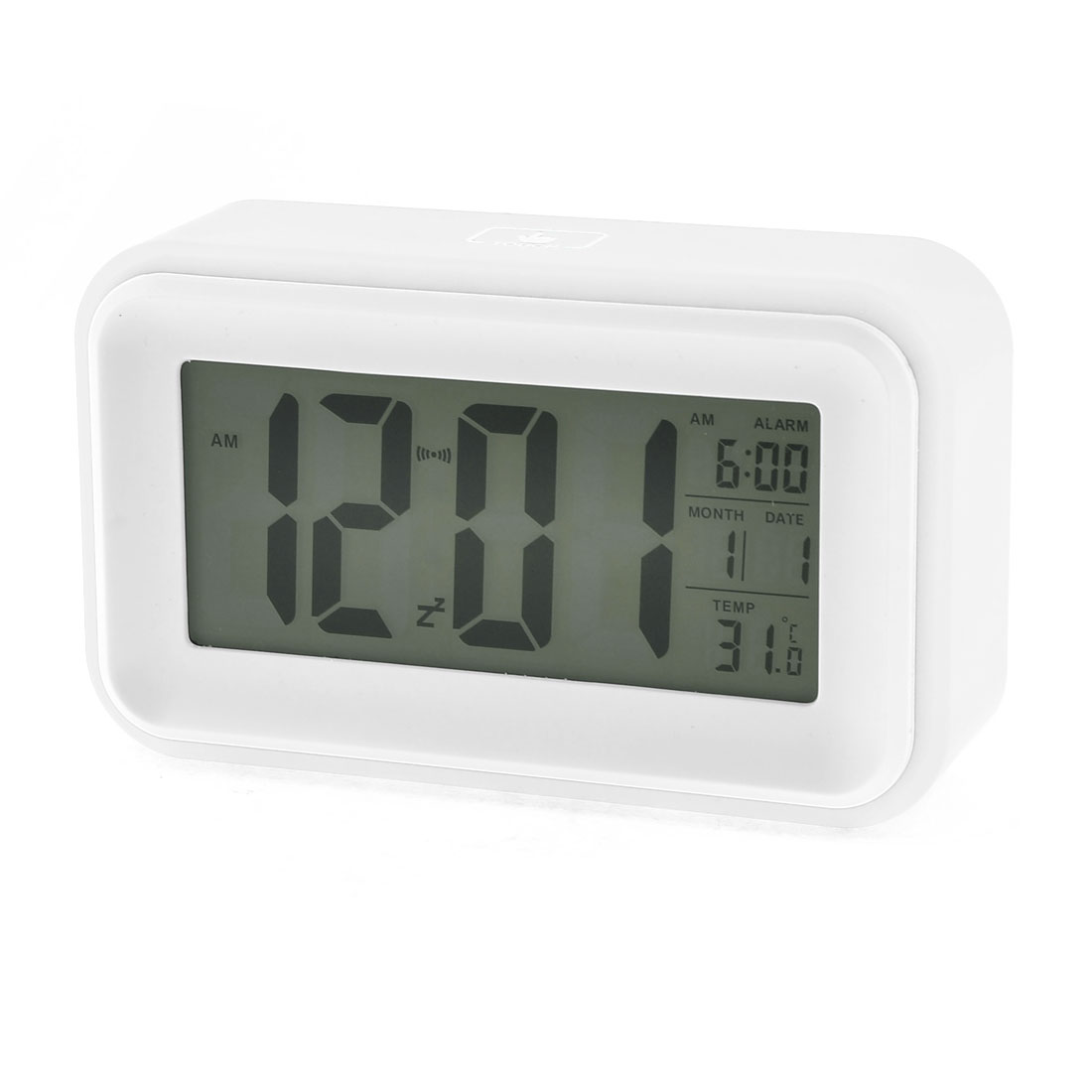 Light Control Device Digital LCD Calendar Alarm Voice Sensor Clock