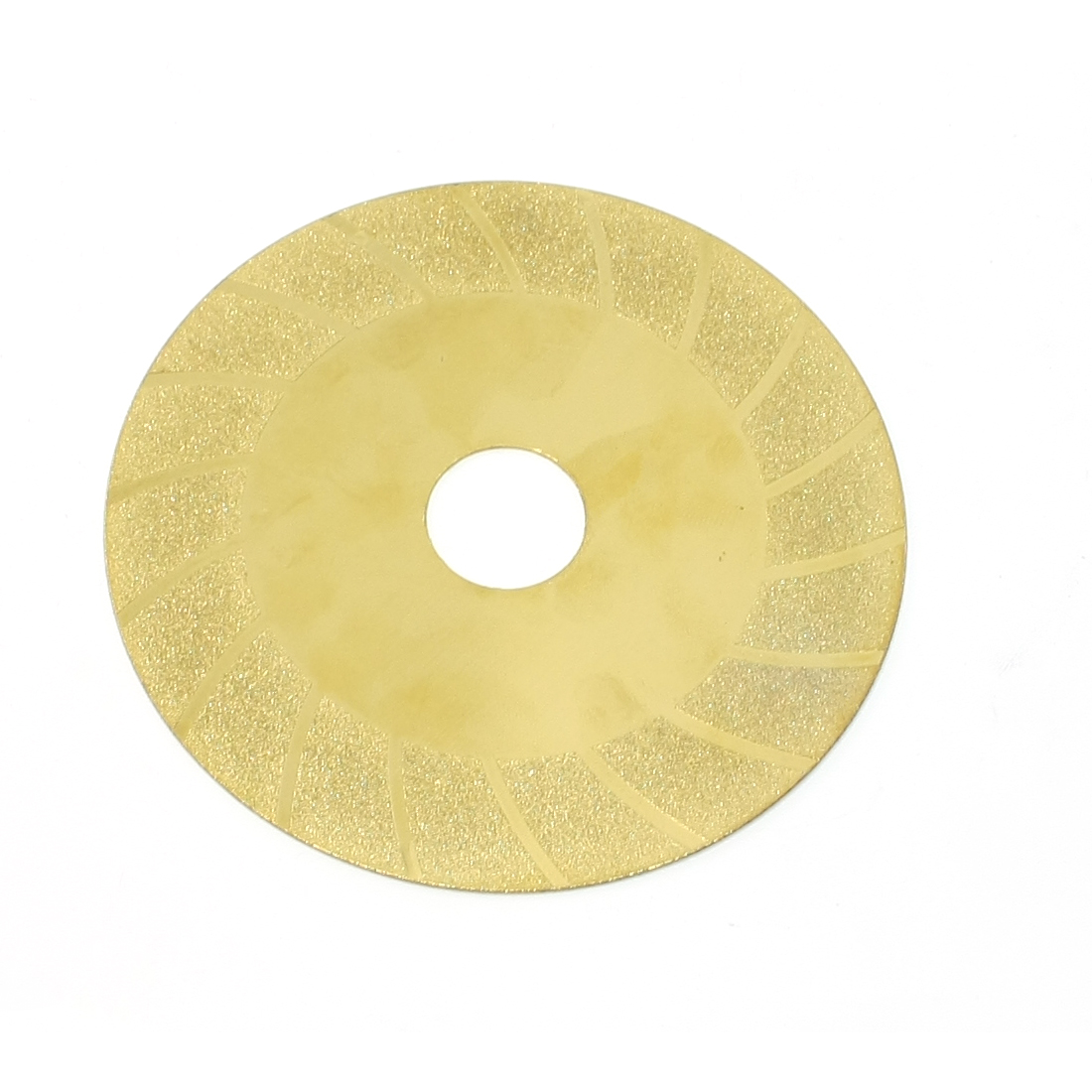 100mm x 20mm Grinding Tool Diamond Coated Cutting Disc Gold Tone
