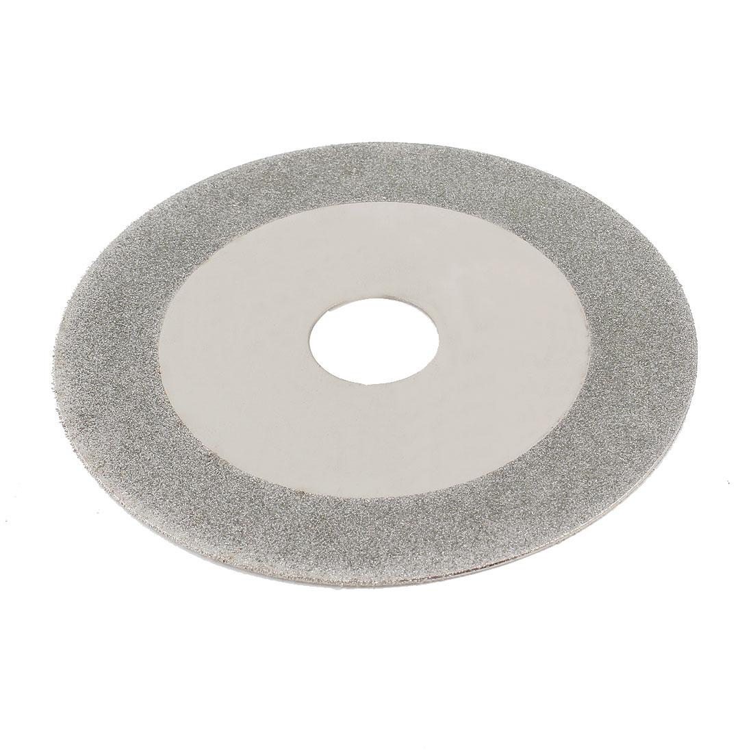 100mm x 20mm Grinding Tool Diamond Cutting Wheel Disc Silver Tone