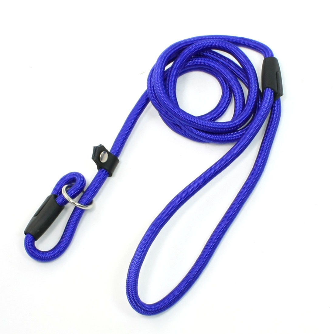 "Pet Doggie Blue Twisted Rope Pulling Neck Leash Strap 56"" Long"