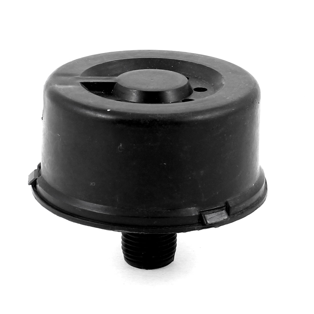 Air Compressor Part 16mm Male Thread Filter Silencer Muffler Black