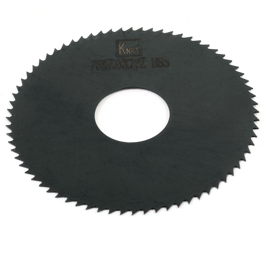 Hand Tool 75mm x 22mm x 0.5mm 72 Peg Teeth HSS Slitting Saw
