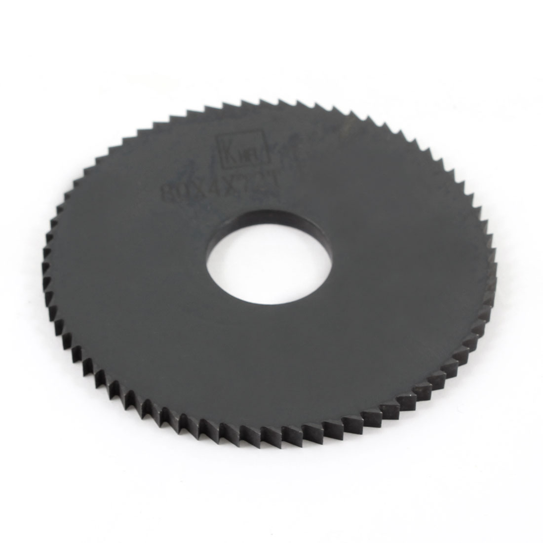 Hand Tool 80mm x 22mm x 4mm 72 Peg Teeth HSS Slitting Saw Blade