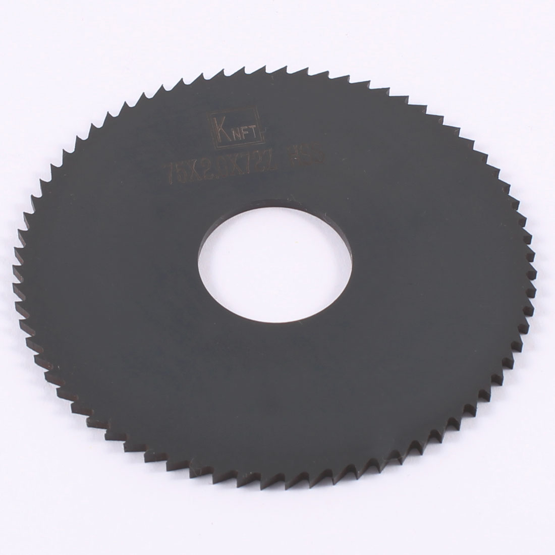 "2 15/16"" x 2/25"" x 7/8"" 72T HSS Slitting Saw Blade Cutting Tool Black"