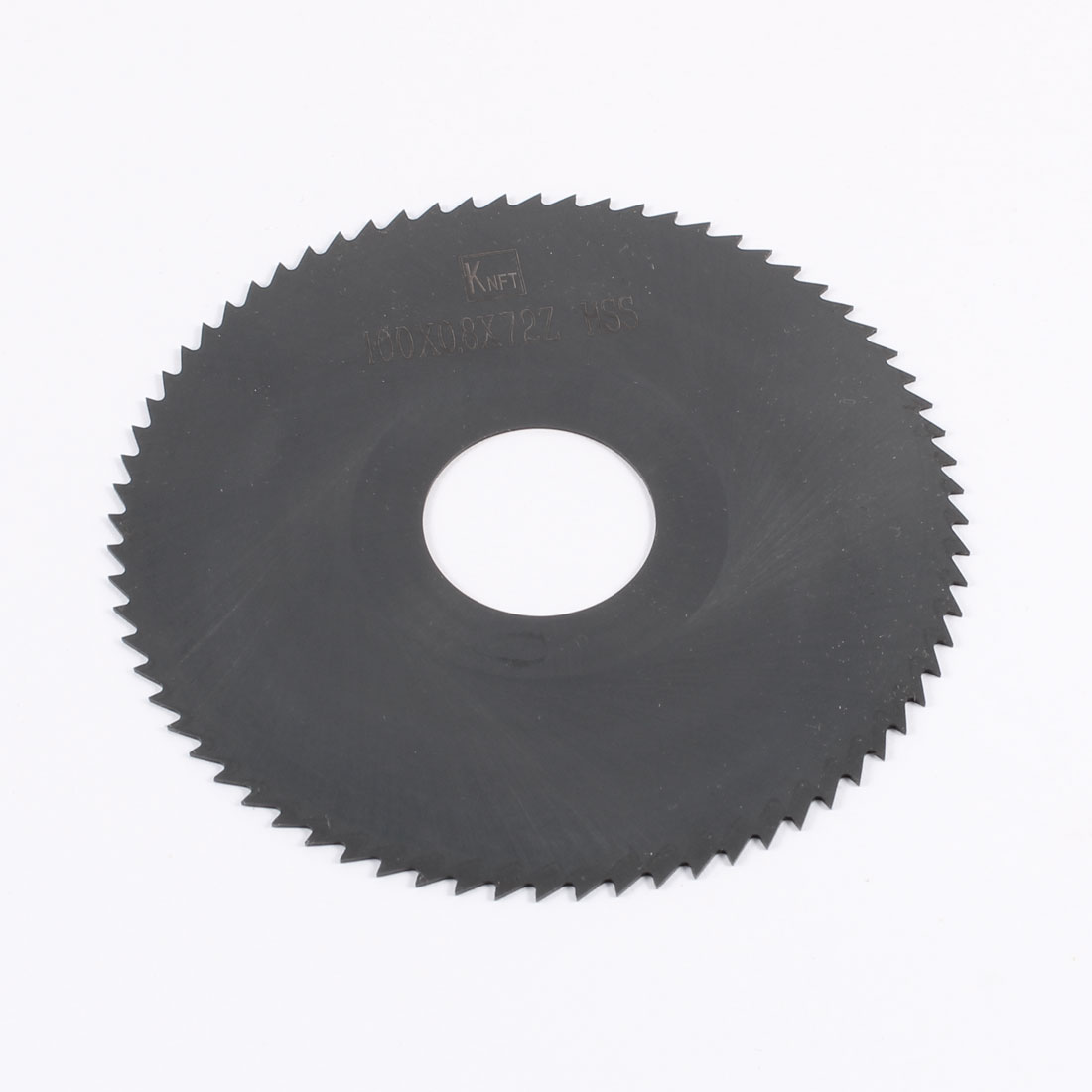 Black HSS 72 Teeth 100mm x 0.8mm x 27mm Slitting Saw Repair Parts