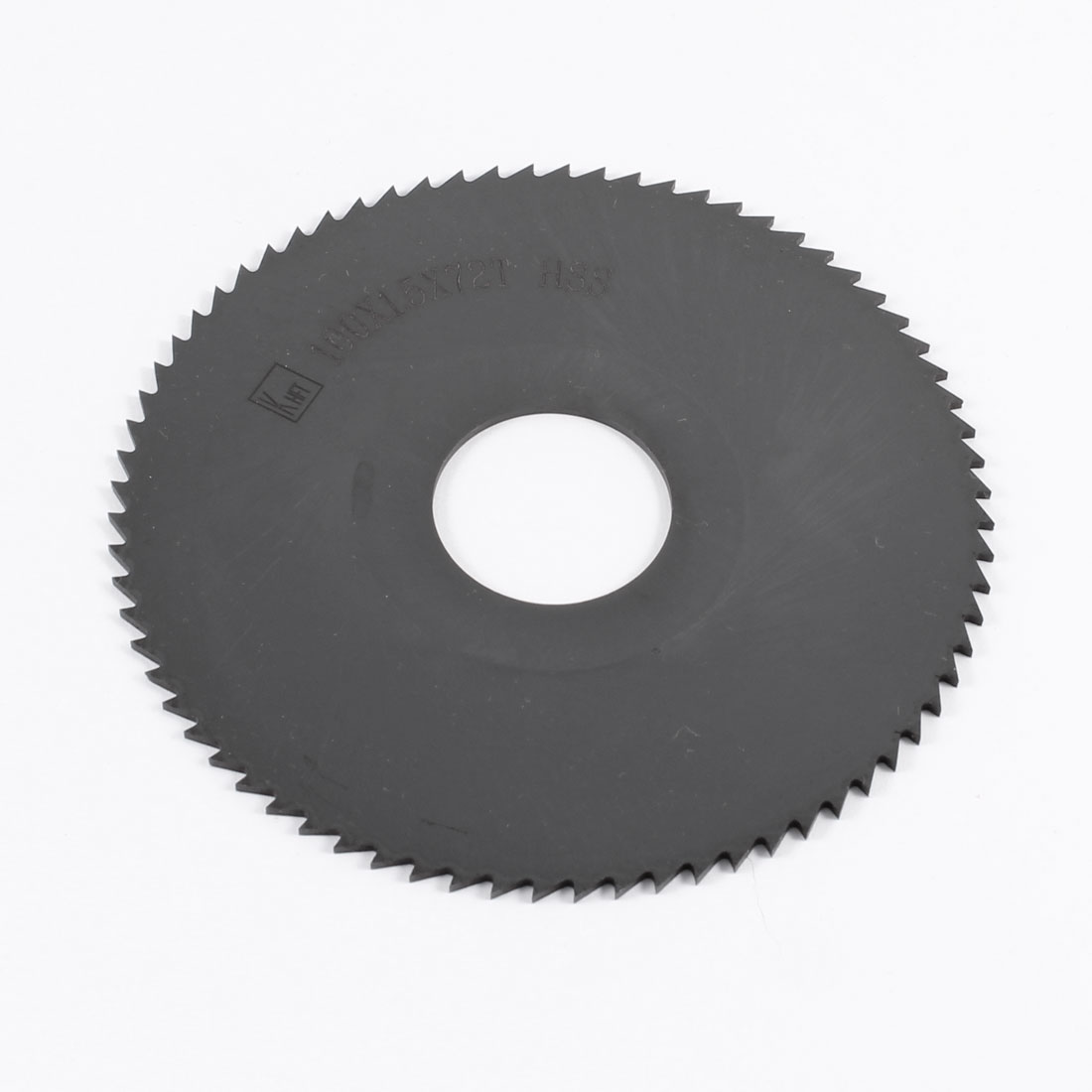 100mm x 1.5mm x 27mm Milling Cutter HSS 72T Slitting Saw Blade Black