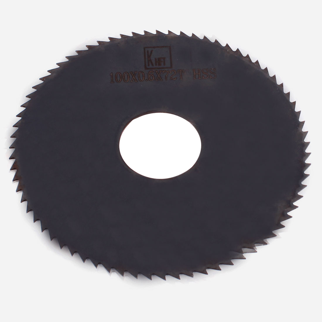 Black HSS 72 Teeth 100mm x 0.6mm x 27mm Slitting Saw Repair Parts