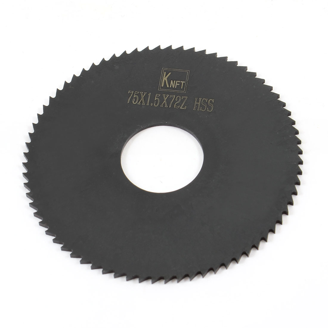 Hand Tool 75mm x 22mm x 1.5mm 72 Peg Teeth HSS Slitting Saw
