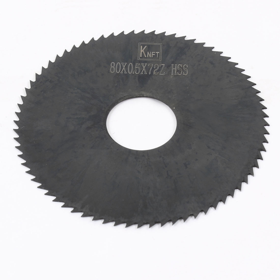 Hand Tool 80mm x 22mm x 0.5mm 72 Peg Teeth HSS Slitting Saw