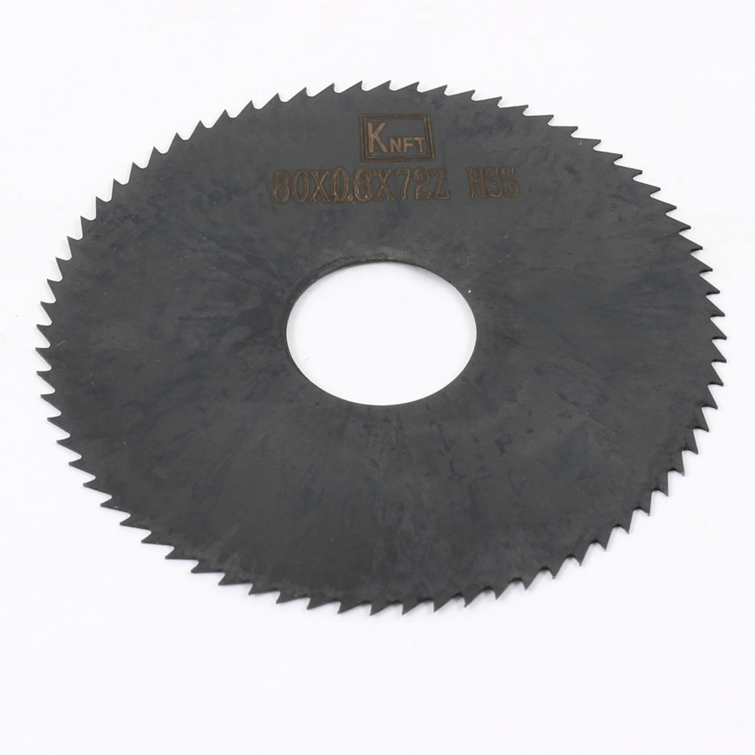 Hand Tool 80mm x 22mm x 0.8mm 72 Peg Teeth HSS Slitting Saw