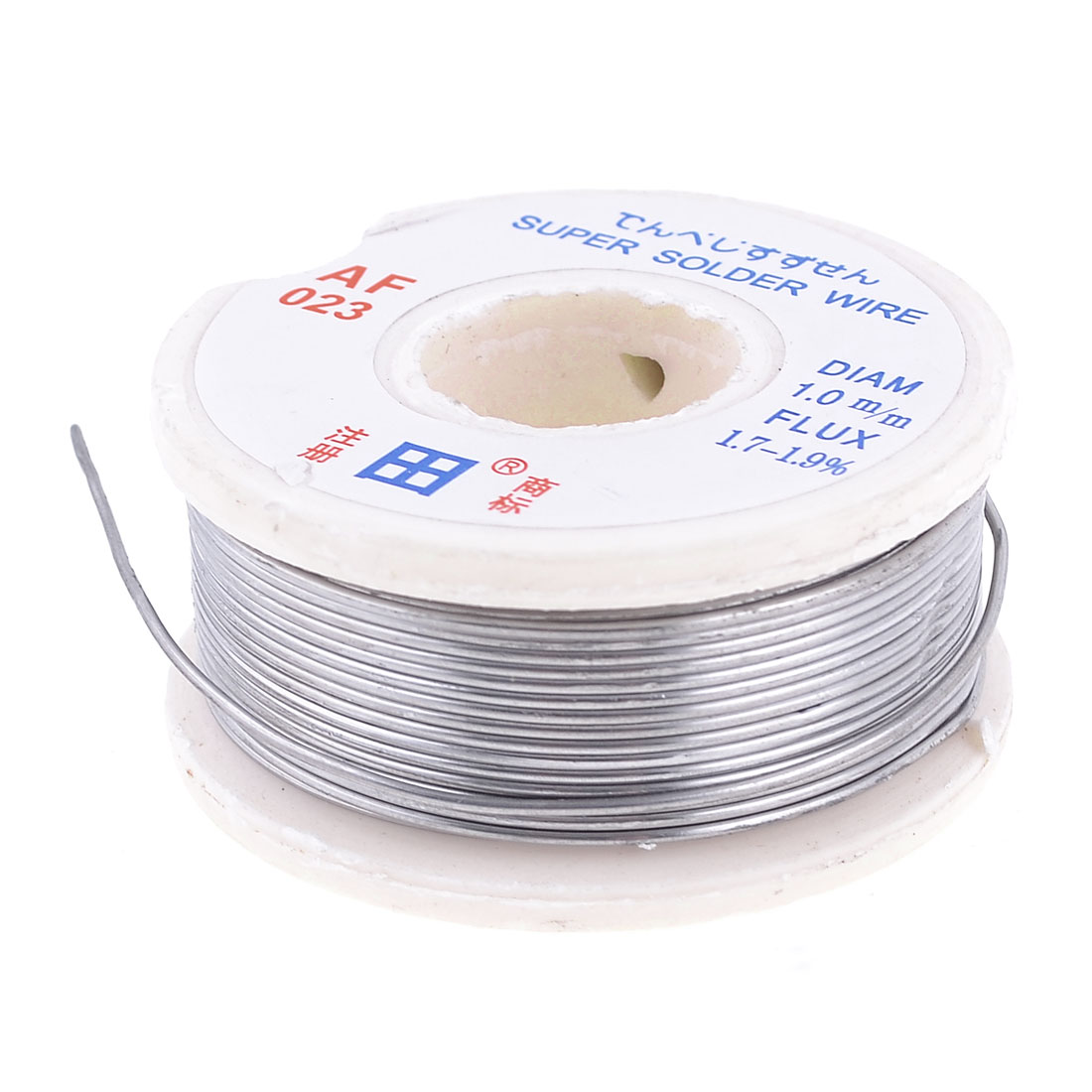 1.0mm Dia 63/37 Tin Lead Alloy Rosin Core Melting Solder Wire Spool Reel