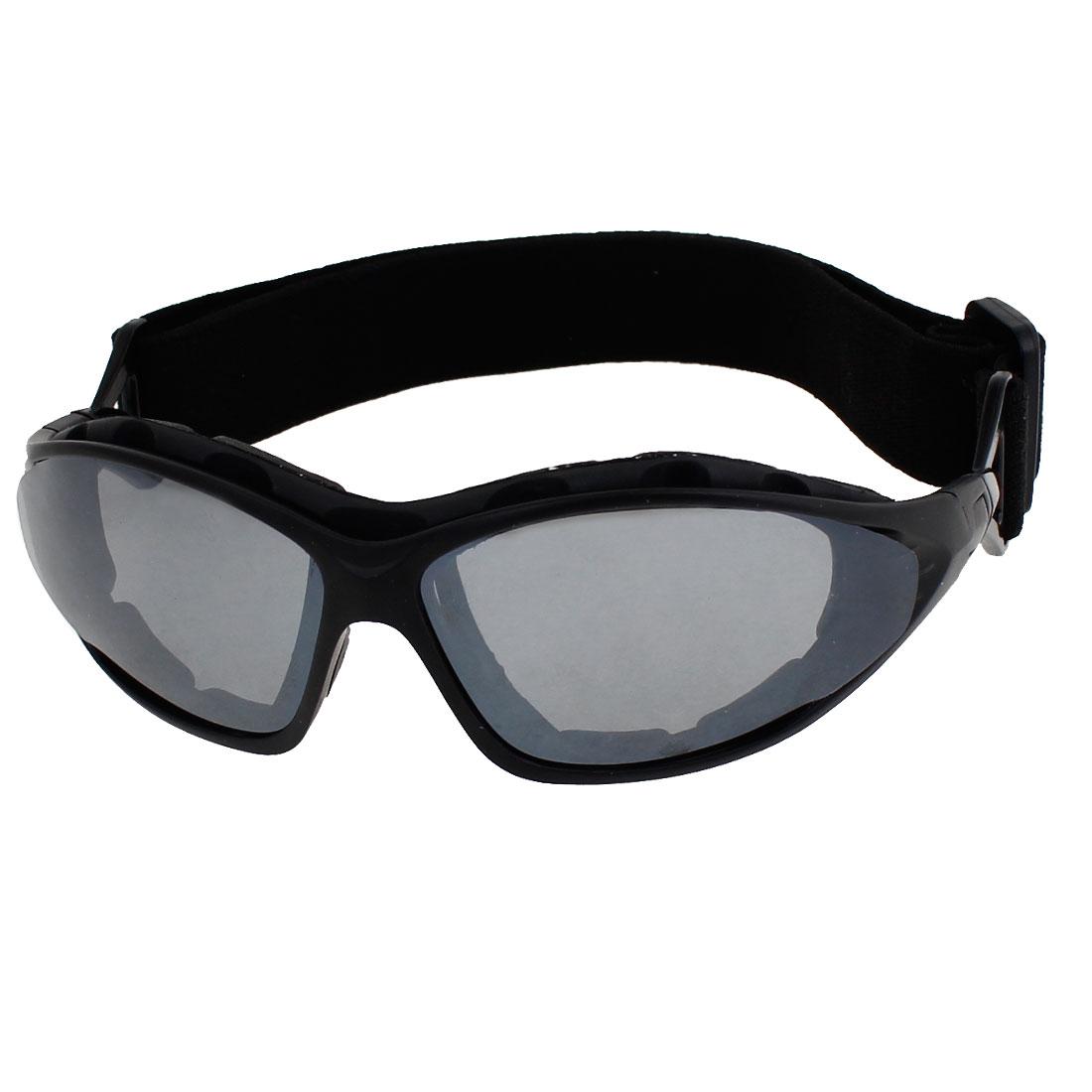 Dark Gray Lenns Full Frame Motorbike Protecting Glasses Goggles for Man