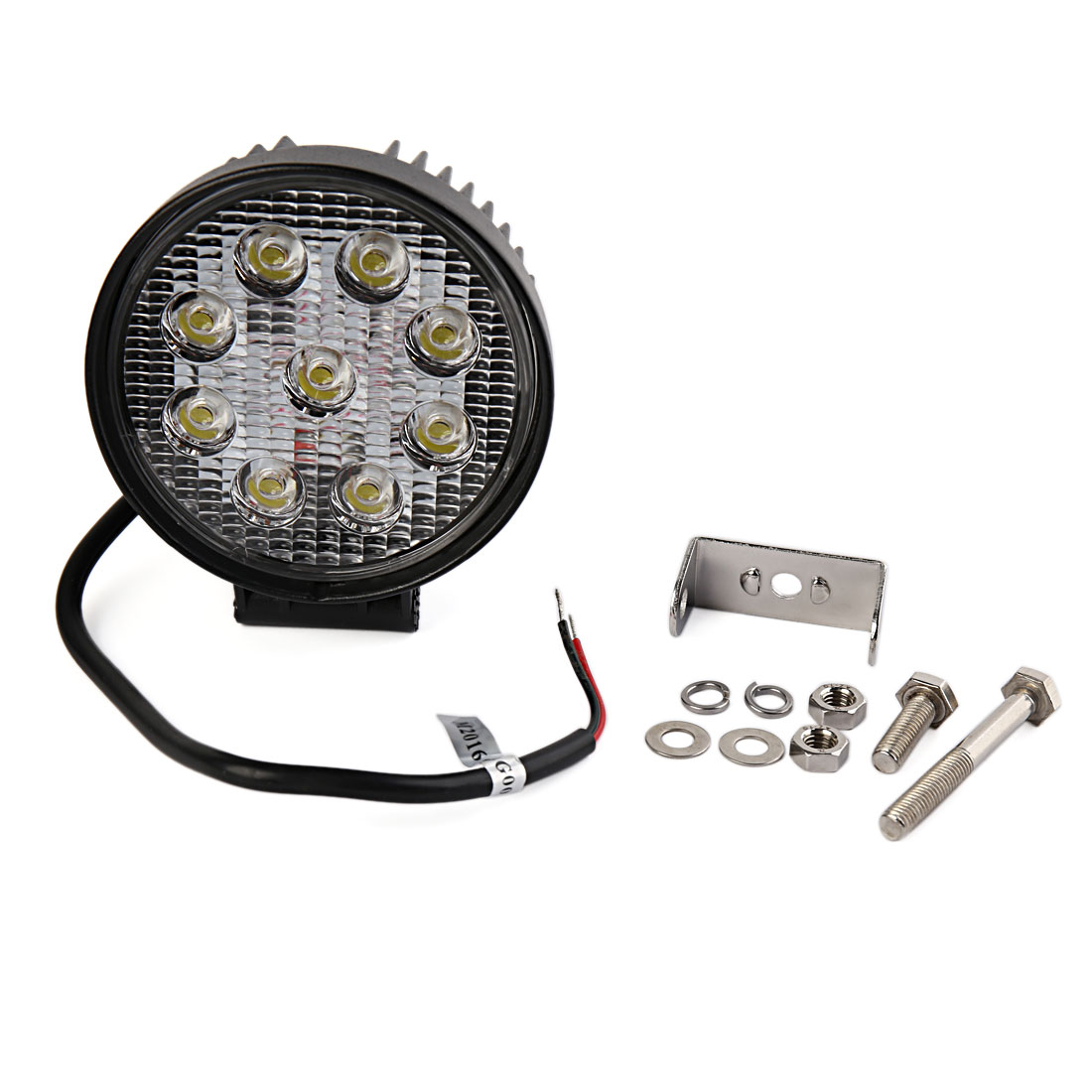 Round 27W LED Work Spot Pencil Offroads Lamp Light Truck 12V 4WD 4x4