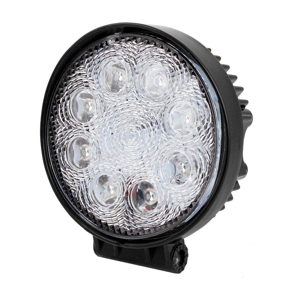 24W 8 LED Spot Beam Work Light Fog Driving Lamp for Offroad ATV SUV Jeep