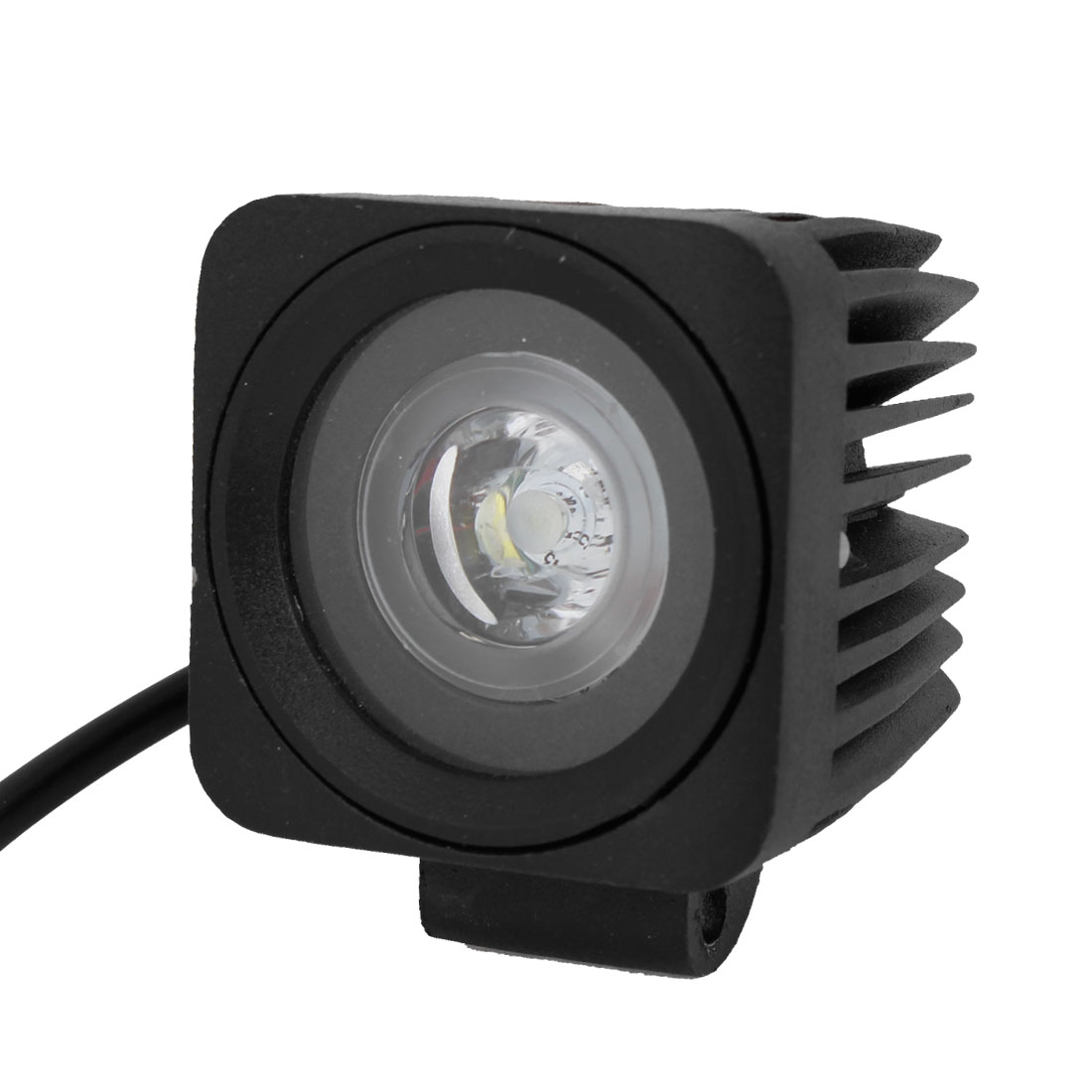 New White 10W LED Work Light Spot Beam Driving Lamp Offroad ATV SUV DC12V 24V