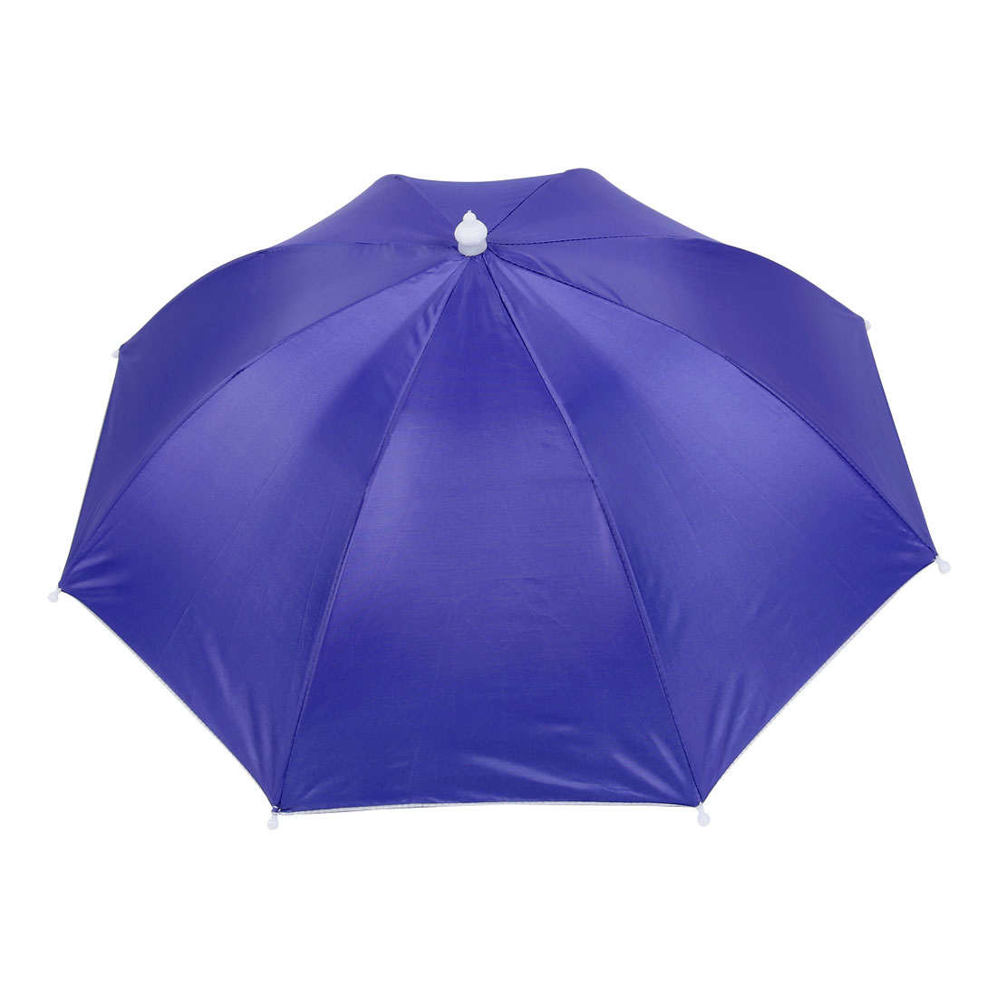 Outdoor Fishing Sports Hands Free Elastic Band Umbrella Hat Headwear Purple
