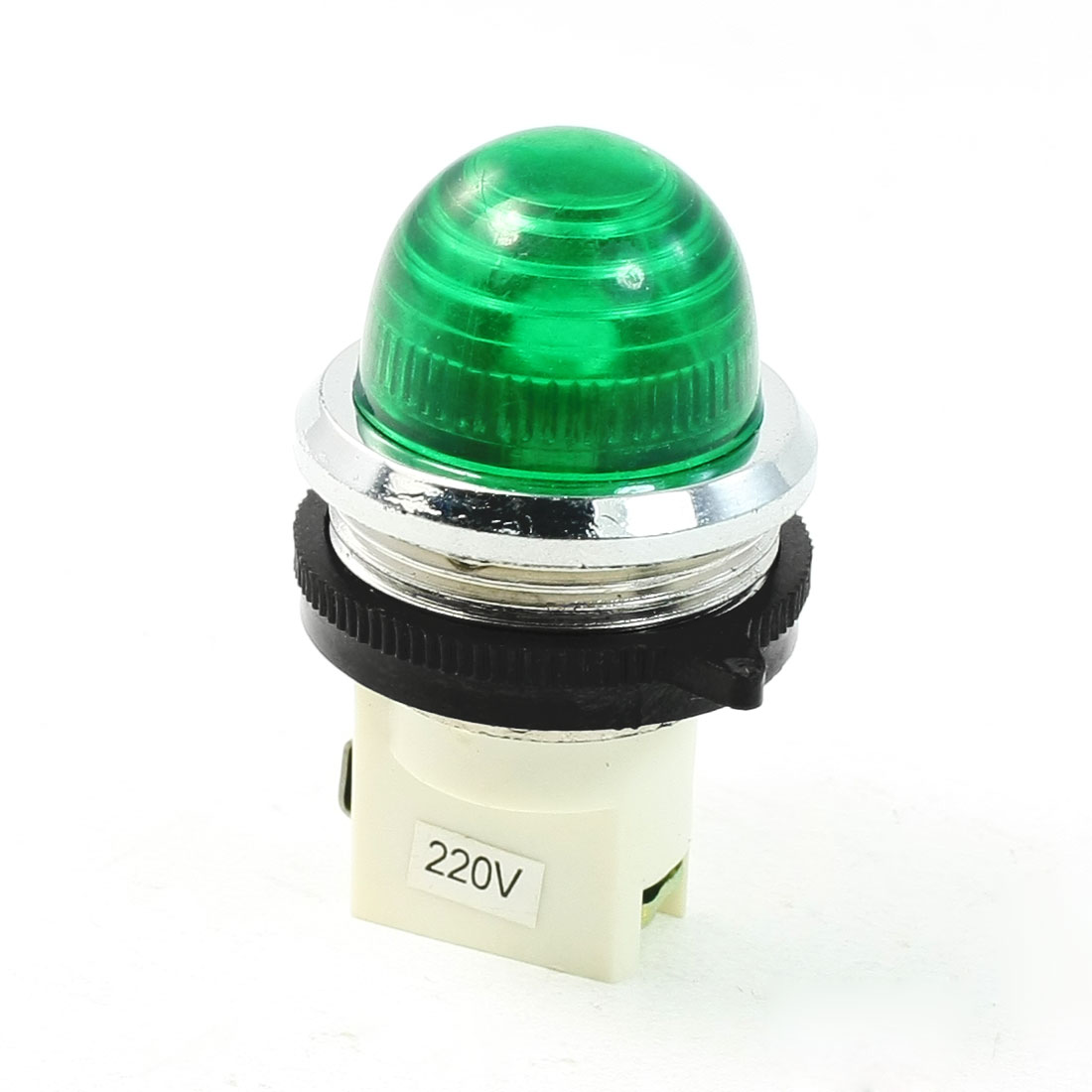 AC 220V Green Power Indicator Pilot Signals Light Lamp
