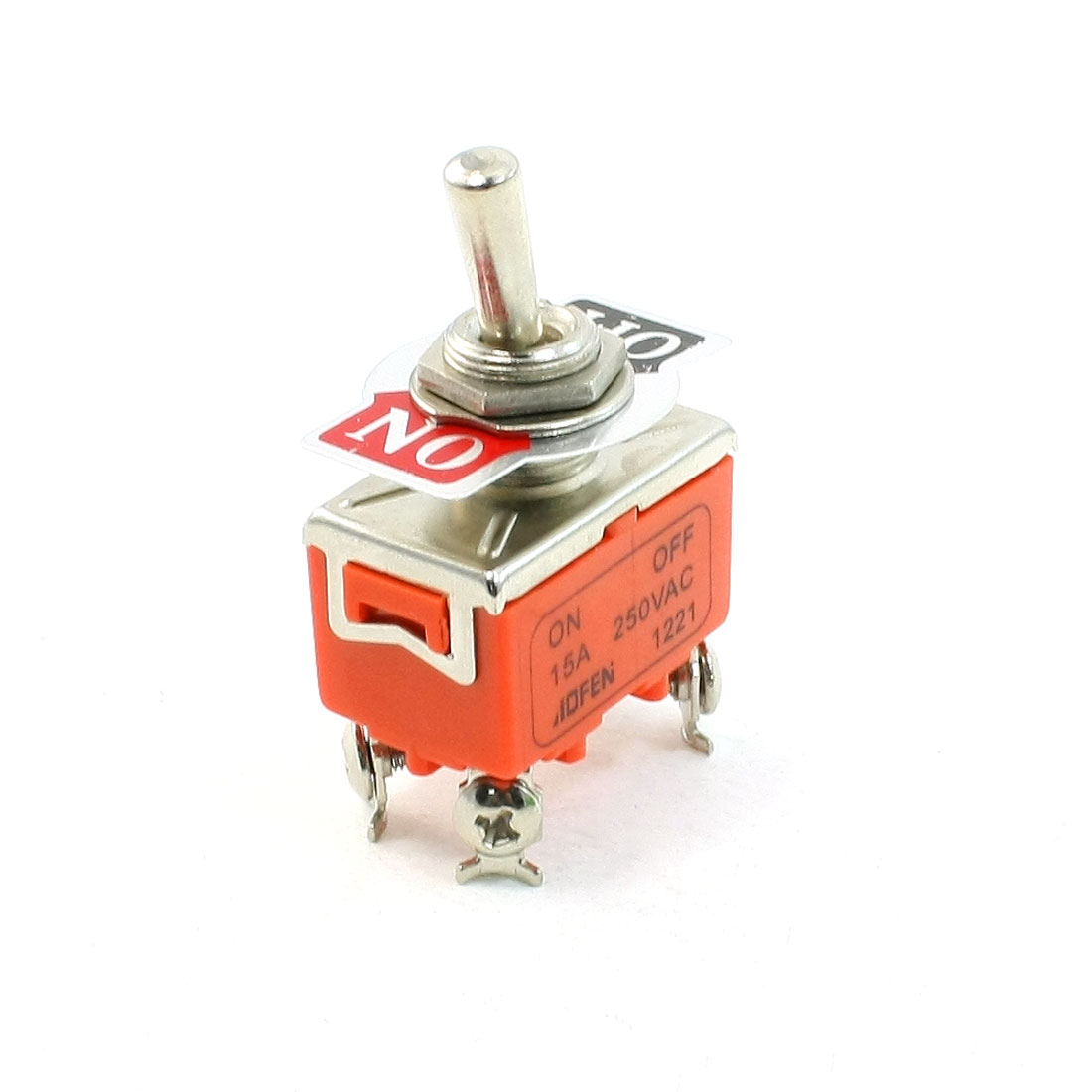 15A/250VAC ON/OFF 2 Position 4 Screw Terminals DPST Toggle Switch