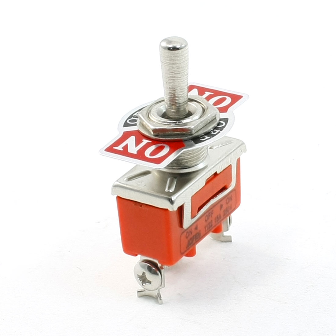 On/Off/On 3 Positions Prong Terminal SPDT Toggle Switch AC 250V 15A