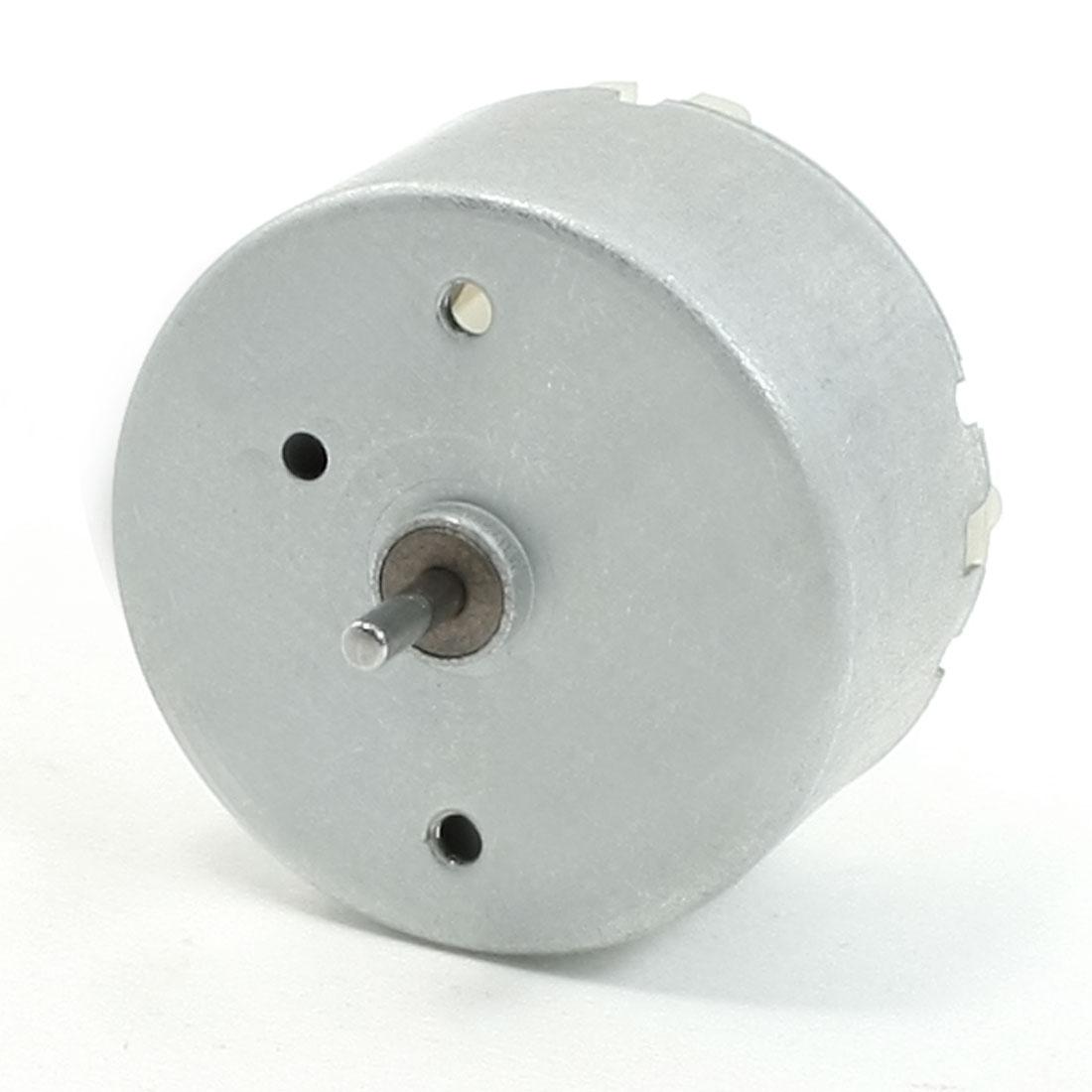 5300RPM Speed 12V High Torque Cylinder Shape Magnetic DC Geared Motor