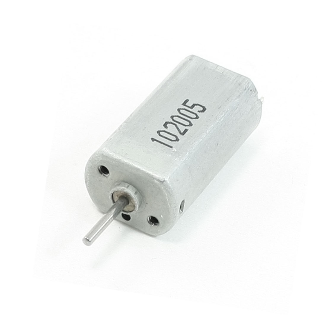 1.5mm Dia Shaft 2 Terminals Magnetic Electric Motor DC 12V 1000RPM