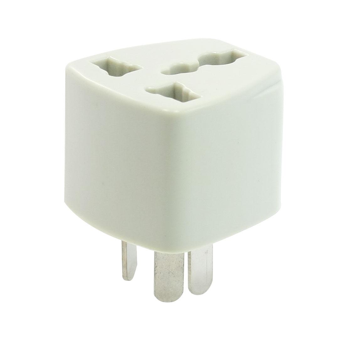 AU to EU US UK Travel Adapter Plug Power Converter 10A 250VAC