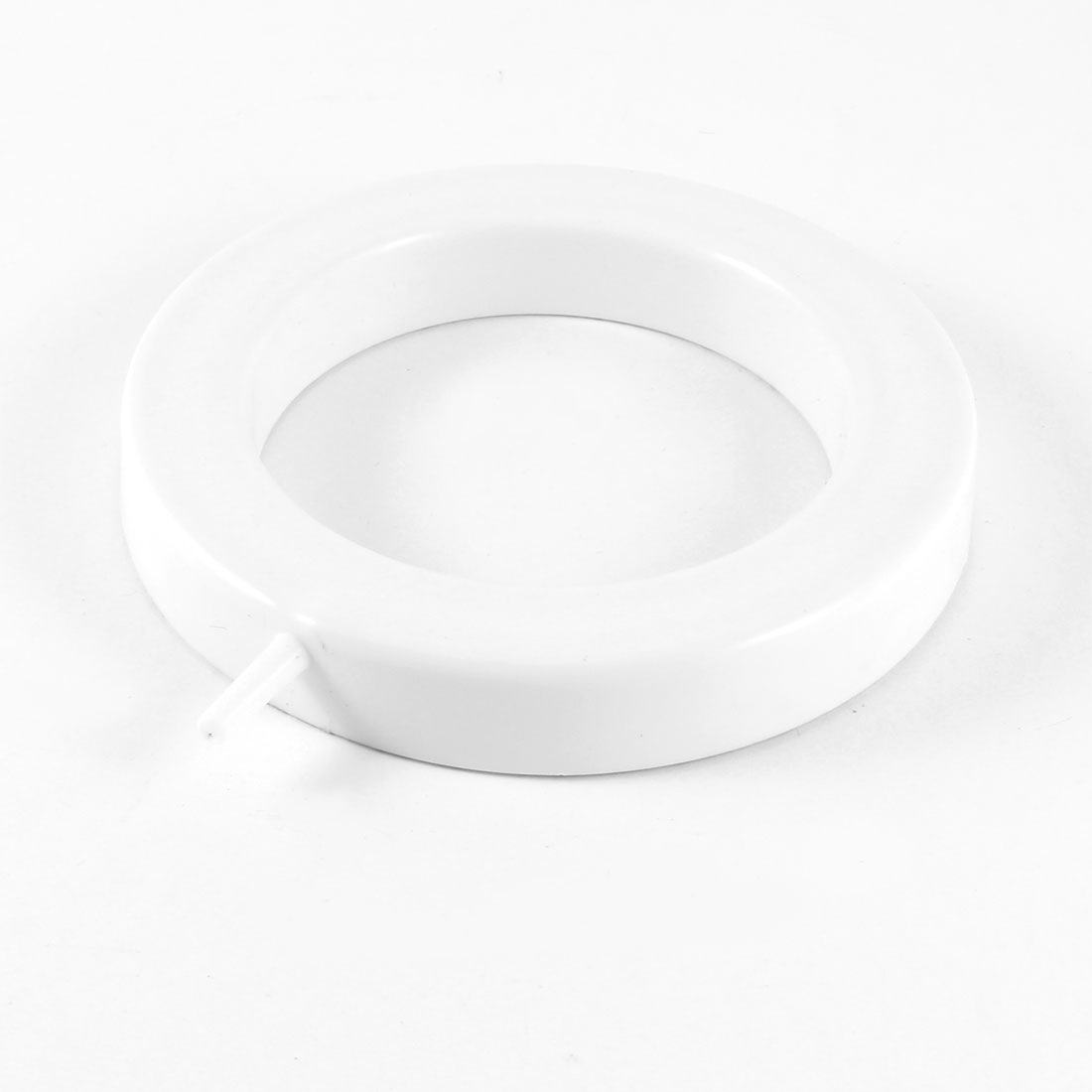 "White 3mm Connector Aquarium Airstone Aerator Air Bubble Disk 5.0"" Dia"
