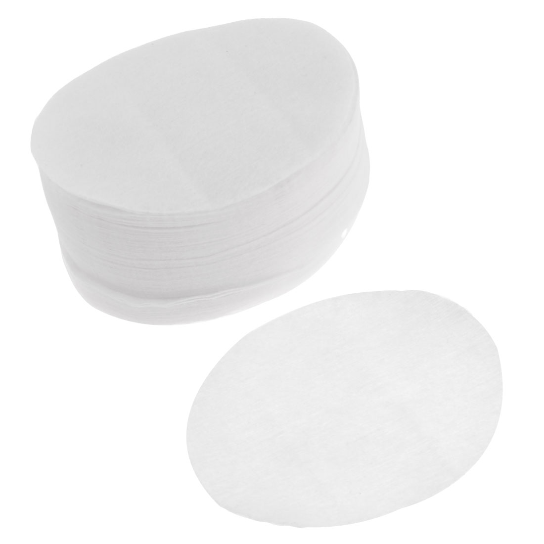Make Up Oval Shape White Facial Cotton Pads 100 Pcs for Lady
